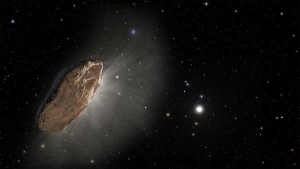 Photo by NASA/ESA/STScI: Oumuamua